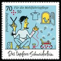 Wohlfahrtsmarken 2019 Schneiderstube