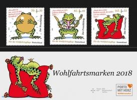 Motiv-Set postfrisch Froschkönig