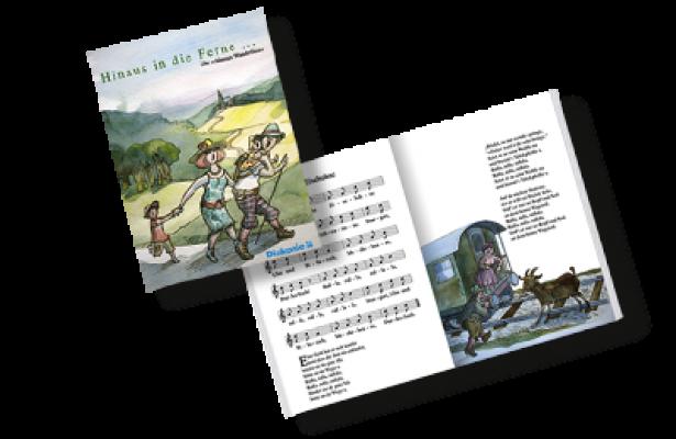 Wanderliederbuch - Hinaus in die Ferne