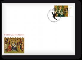 Ersttagsbrief mit Weihnachtsmarke - Bonn