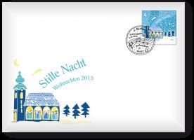 Ersttagsbrief mit Weihnachtsmarke - Berlin